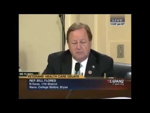 Congressman Flores Questions Panel Regarding Data Manipulation and Access to VA Healthcare