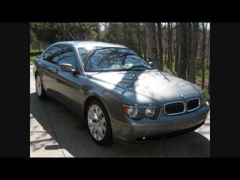 BMW 745i Sport for Sale 2003 E65 180k miles 23.5 mpg average $14,500