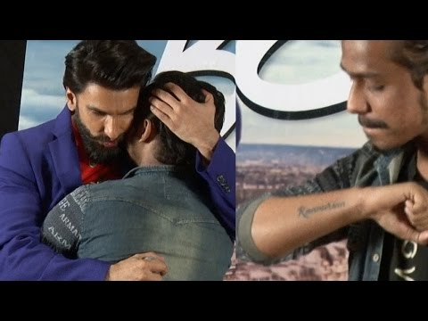 Ranveer Singh Almost CRIES For A Fan Who Tattooed His NAME | Uncut VIDEO