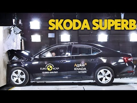 ► 2015 Skoda Superb CRASH TEST