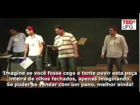 Alan Foster: Teatro Cego at TEDxUFG