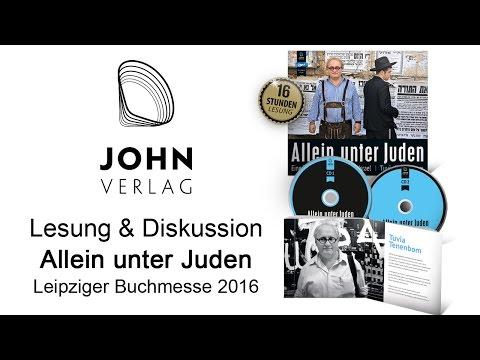Tuvia Tenenbom - Allein unter Juden (Catch the Jew), Leipzig Buchmesse 2016