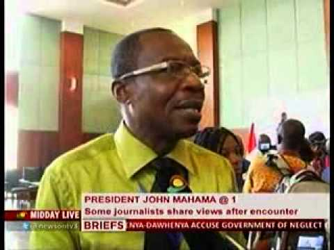 Midday Live - Senior Journalists Comment on President Mahama's Press Meeting - 8/1/2013