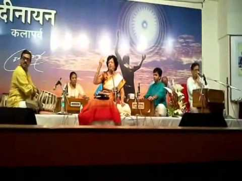 Padmashri Padmaja Phenany Joglekar with her GURU Padmashri Pt...