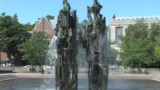Princeton University Green Tour: Scudder Fountain
