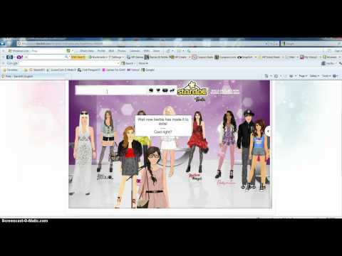 How to get the free barbie gift and about stardoll barbie!