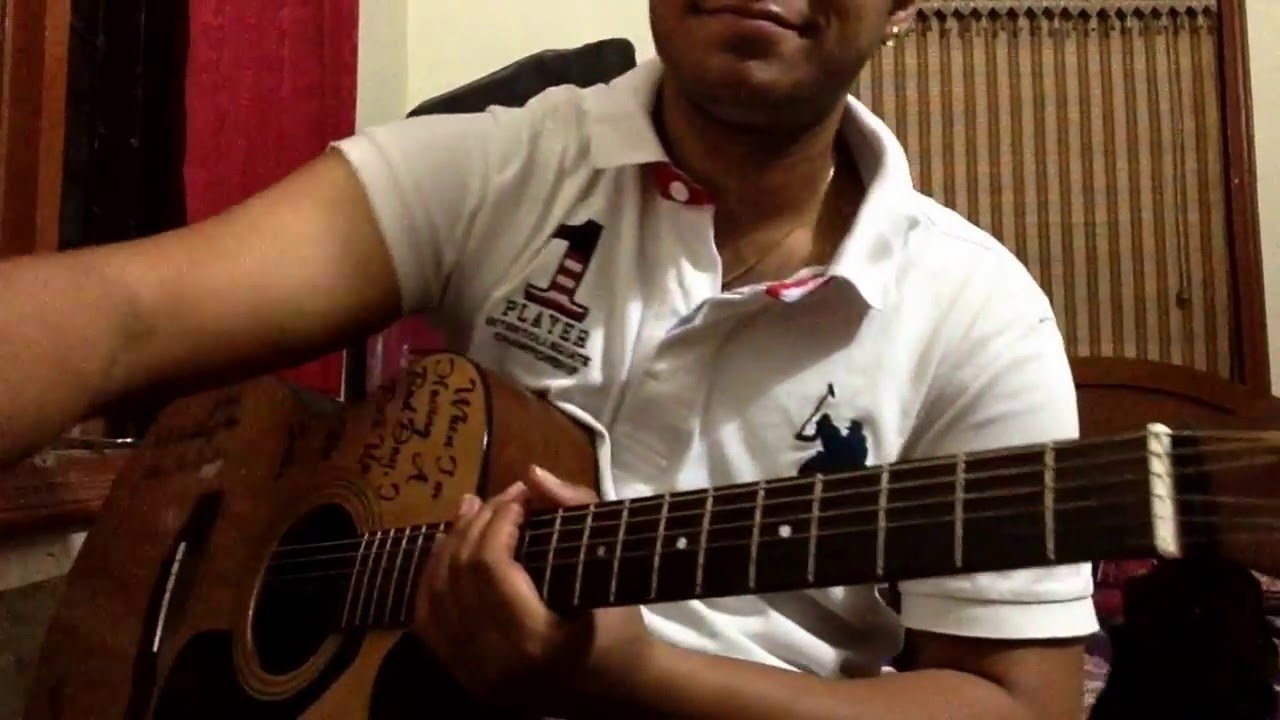 Jaise Mera Tu : Arijit Singh : Happy Ending : Guitar Chords Lesson - YouTube