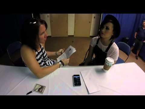 2014 09 07 Demi Lovato World Tour Interview