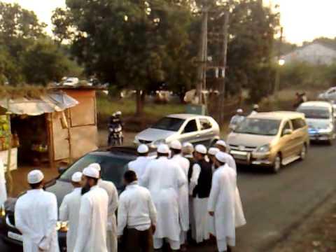 Jogwad Welcome ceremony 1 Shaikh Ayed Al Qarni