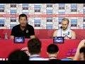 EuroBasket 2017 Letonya-Türkiye maçı sonrası basın toplantısı