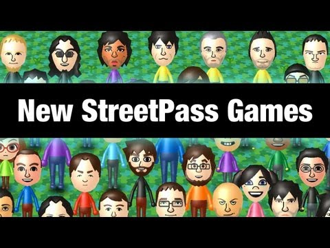 3DS Firmware Update + New StreetPass Games