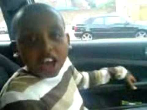 Somali kid rapping lol -  somali video