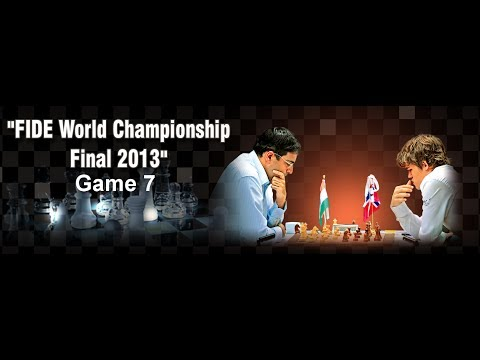Game 7 - Viswanathan Anand vs Magnus Carlsen | FIDE World Championship 2013