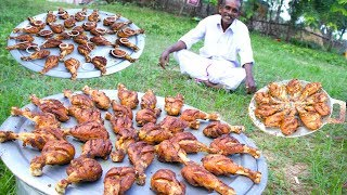 CHICKEN LEGS | Grandpa cooking chicken legs fry | Chicken legs Village Food recipes Village Cooking