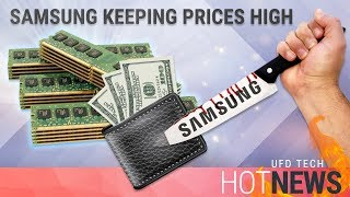 Samsung Keeping RAM Prices High for MOAR Profit!