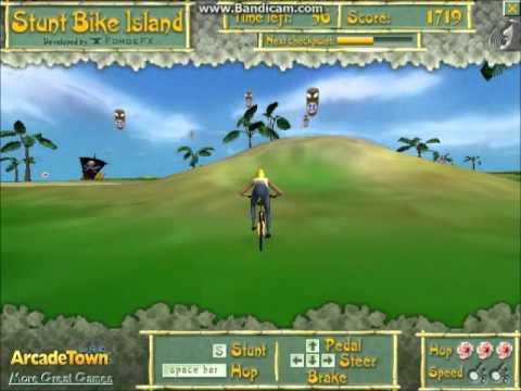 Bike Island Stunt Bike Island Bmx Games