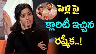 Rashmika Mandanna Clarifies About Her Marriage Rumours With Rakshith Shett | Rashmika Mandanna|TTM