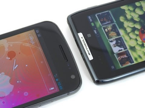 Verizon Galaxy Nexus vs Motorola DROID RAZR
