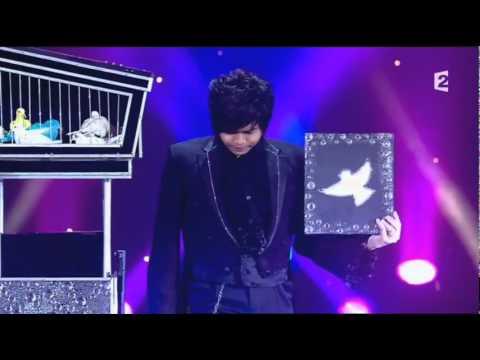 Jaehoon Lim -2011 Le Plus Grand Cabaret Du Monde. 마술사 임재훈 프랑스 방송 비둘기 마술.