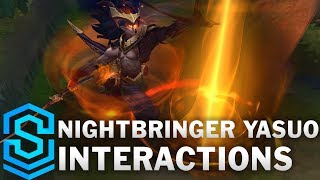 Nightbringer Yasuo Special Interactions