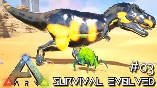 MODDED ARK: SCORCHED EARTH - GIGA REX GIANT EPIC TREX !!! E03 (ARK SURVIVAL EVOLVED GAMEPLAY)