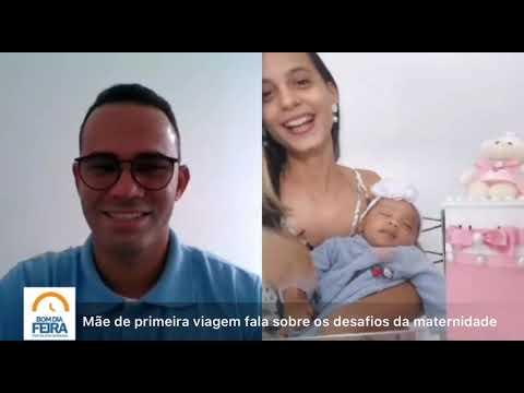 Mãe de primeira viagem fala sobre os desafios da maternidade