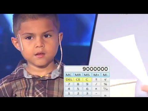 Luis Esquivel Junior, el Baby Genius de las matemáticas - Susana Giménez