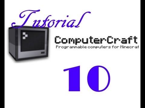 Minecraft / Computercraft Tutorial #10 - Minenschacht ausheben / Mining Turtle