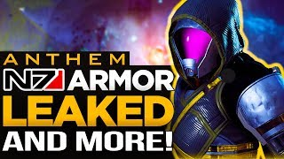 *NEW* Anthem Leaks | N7 Armor, Carbon Fiber & More!