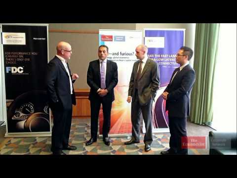 Ross O'Brien speaks to the 3 of the panelists to get their thoughts on the impacts of technology and global economics on Asia's capital markets in Hong Kong,...