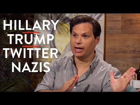 Michael Ian Black on Hillary vs Trump and Twitter Nazis (Part 1)