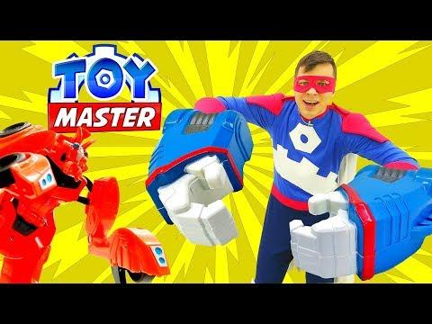 Собираем Тобота с Той Мастером! Видео игры с Трансформерами.