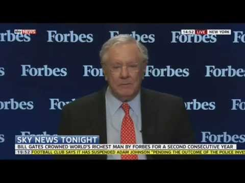 Steve Forbes Welcomes More Billionaires Onto Rich List