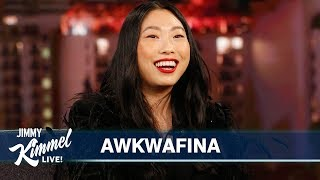 Awkwafina on Crazy Family, Jumanji, Golden Globe Nomination & Howard Stern
