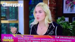 Aleyna Tilki Egosuna cevap (Recep Tayyip Erdoğan,Fatih Portakal)
