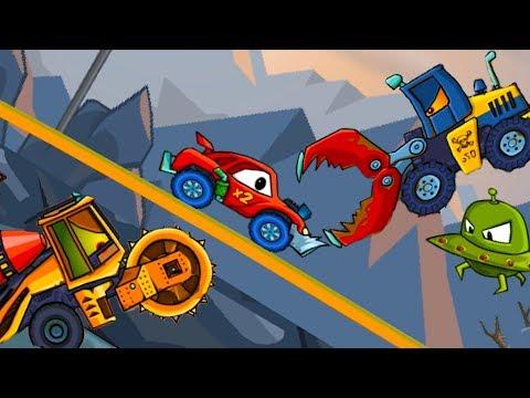 Машина ест машину 2 Car Eats Car Хищные машины #46 Новые серии от Кида #МК