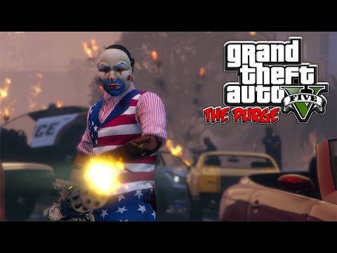 GTA 5 ONLINE - THE PURGE EP. 1 FT. KRYTPO9095 [HQ]