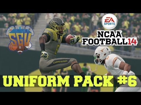 NCAA Football 14: Uniform Pack 6 Available Now!