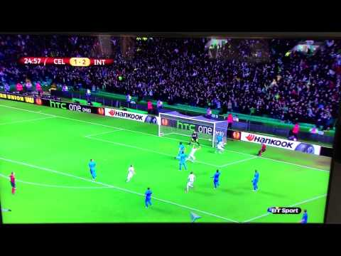 Celtic 3-3 Inter Milan Highlights/Goals (BT Sports Commentary)