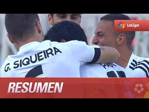 Resumen de Getafe CF (2-2) Valencia CF