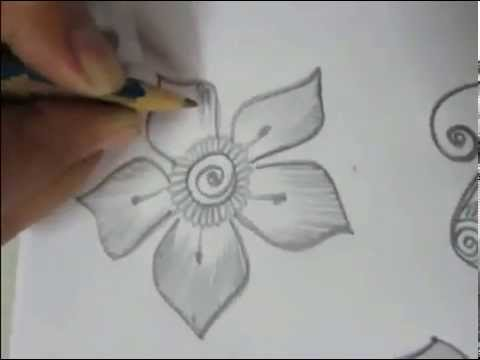 Step By Step Easy Mehendi Designs For Beginners video