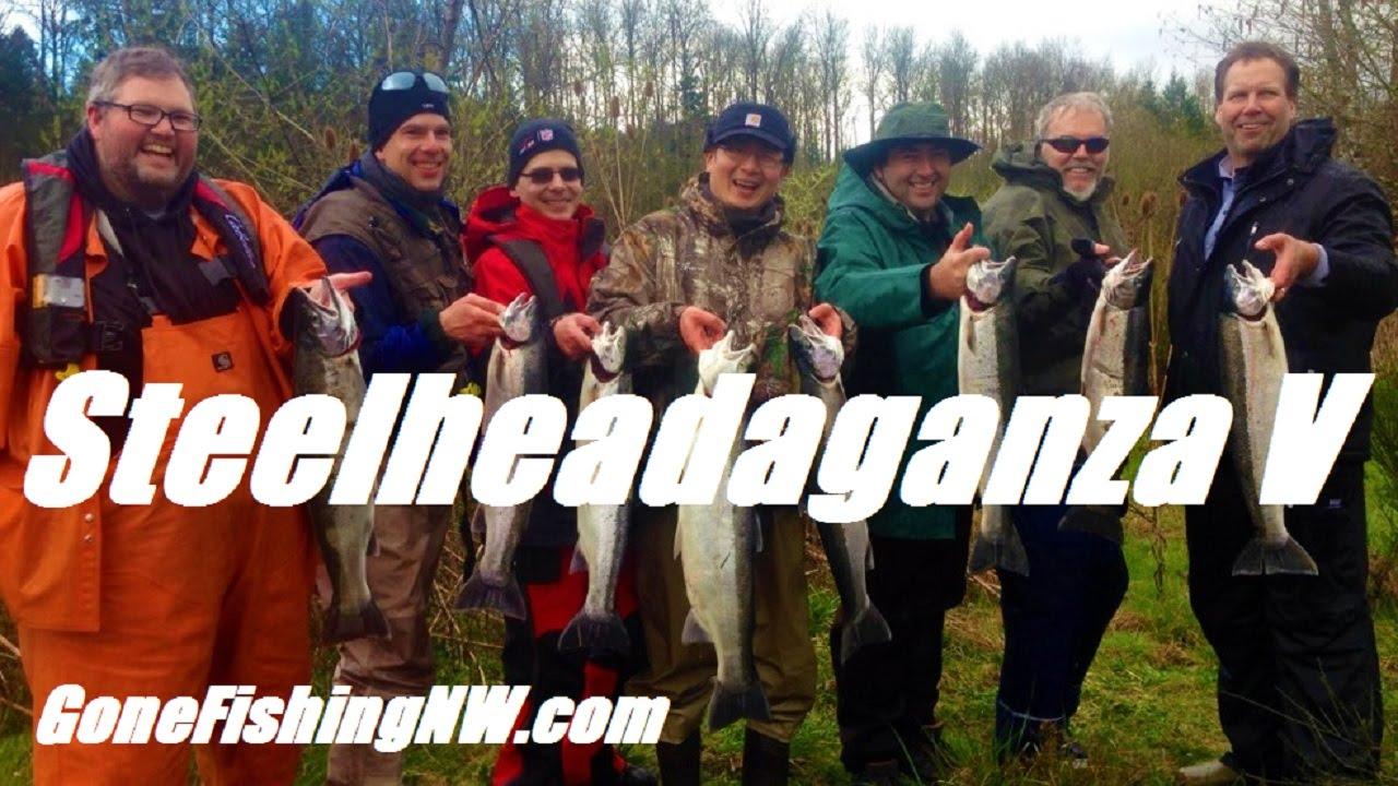 Steelheadaganza V   Cowlitz River Steelhead Fishing