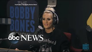 Download Lagu Carrie Underwood shares details of accident, facial surgery Gratis STAFABAND