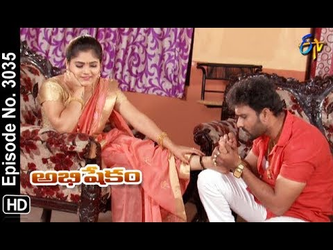 Abhishekam | 8th October 2018 | Full Episode No 3035 | ETV Telugu