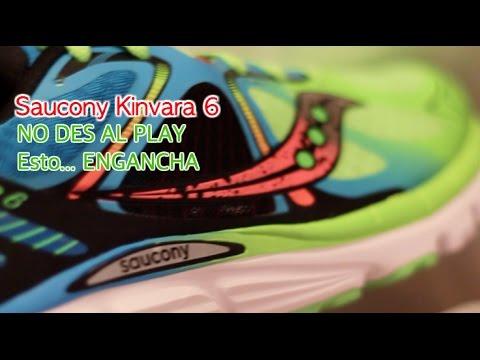 Saucony Kinvara 6, no le des al play; esta zapatilla running... ENGANCHA