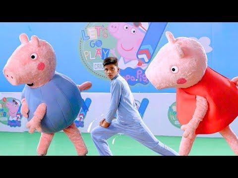 Peppa Pig in Hindi - Cricket Fun with Peppa Pig and Soha Ali Khan [ENG sub]