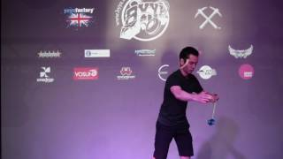 UK National YoYo Contest 2016 - 1A Finals - Yuji Kelly - 4th