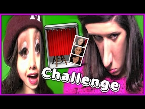 PHOTO BOOTH CHALLENGE!!! / Кривое Зеркало