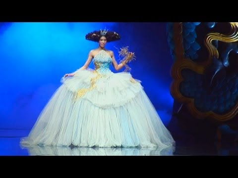 Legend Of The Dragon - Couture Fashion Show by Guo Pei in China | FashionTV