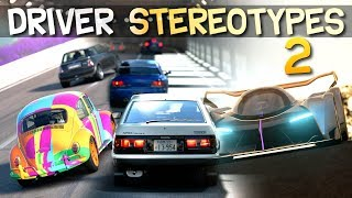 Driver Stereotypes 2 | Racing Games